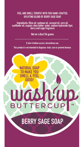Wash Up Buttercup™ Berry Sage Soap