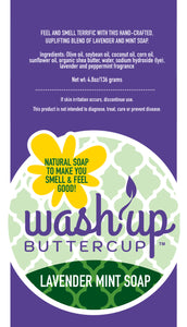Wash Up Buttercup™ Lavender Mint Soap