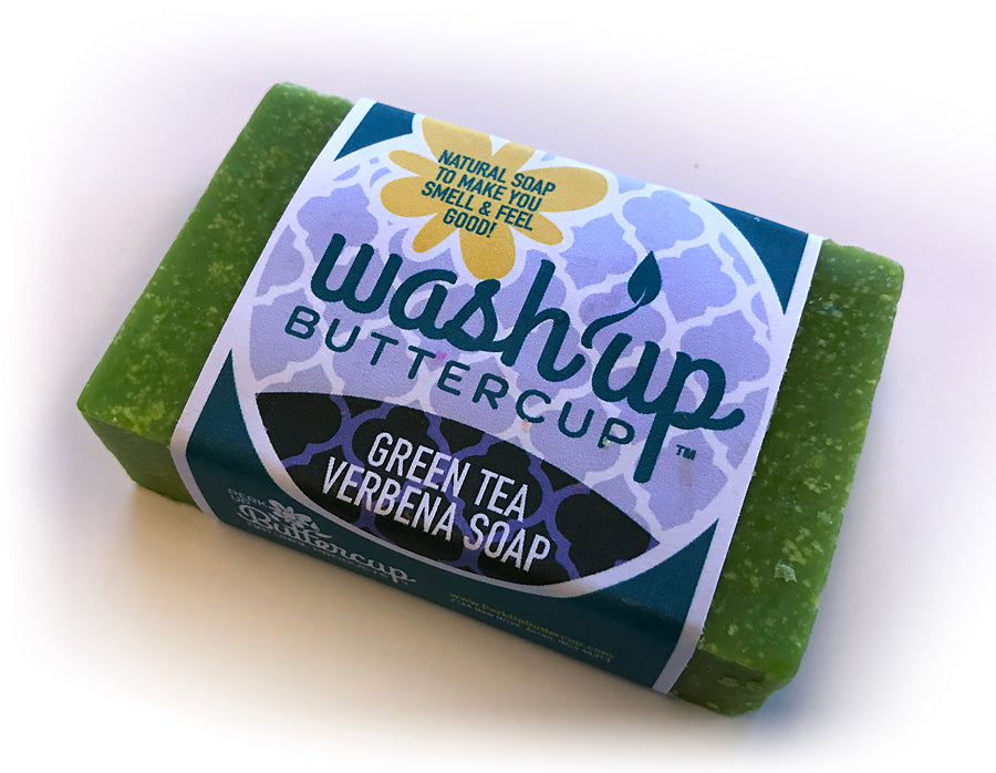 Wash Up Buttercup™ Green Tea Verbena Soap