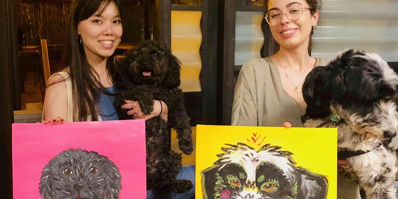 Paint your Dog - Painting Party in Richmond