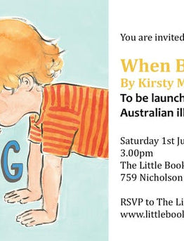 Book Launch: When Billy Was A Dog