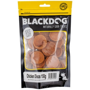 Blackdog Chicken Discs - doggiebox Australia