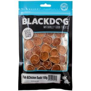 Blackdog Fish & Chicken Sushi 150gm