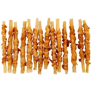 Blackdog Chicken Twist Sticks 25pcs - doggiebox Australia