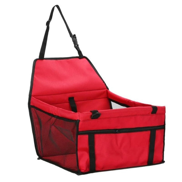 Breathable Waterproof Travel Bag with Safety Belt Pet Car - doggiebox Australia