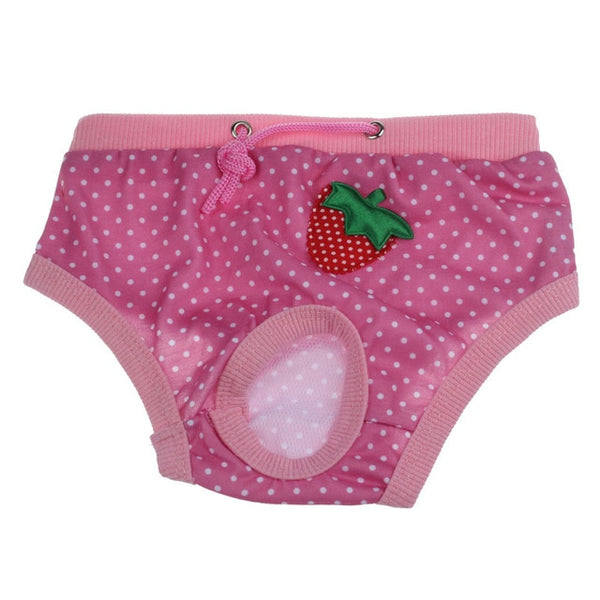 New Arrive Female Pet Dog Hygiene Pants Estrus Girl Puppy Period Menstruation - doggiebox Australia