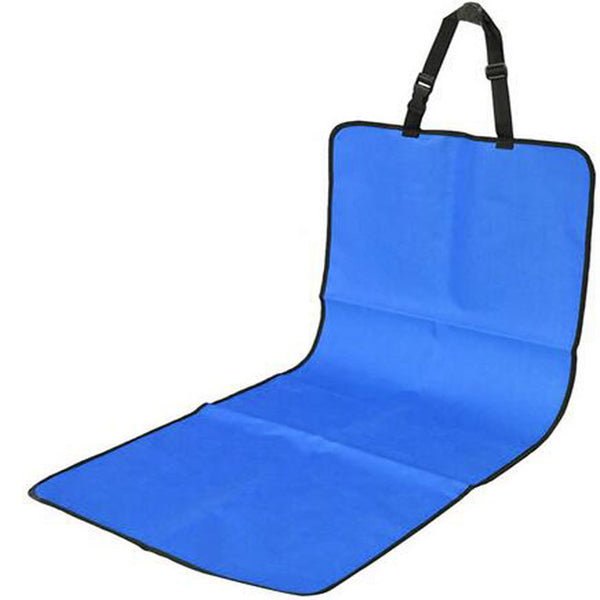 Waterproof Travel Car Back Seat Cover cum Mat Rear Safety Protector for Cat Dog - doggiebox Australia