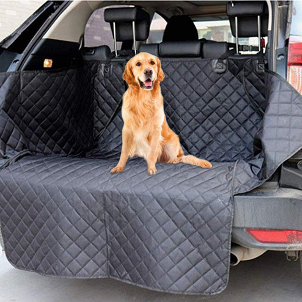 Waterproof Lanke Dog Car Seat Cover cum Carriers With Safety Belt - doggiebox Australia