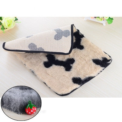 Pet Dog Cat Washable Blanket Cushion Mattress Kennel Pillow Slipcover - doggiebox Australia