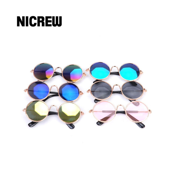 Nicrew lasses Cat Pet Glasses Eye-wear Props - doggiebox Australia