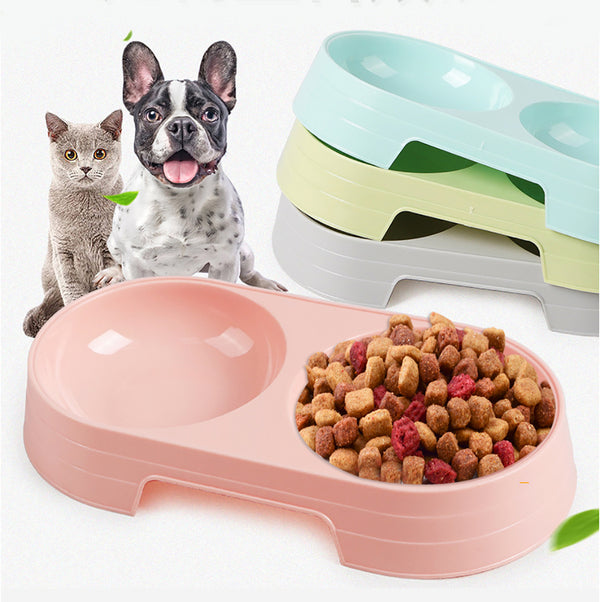 Wheat Straw Candy Color Anti-Skip No Tip Pet Bowl for Dogs Cats  Pet Puppy - doggiebox Australia