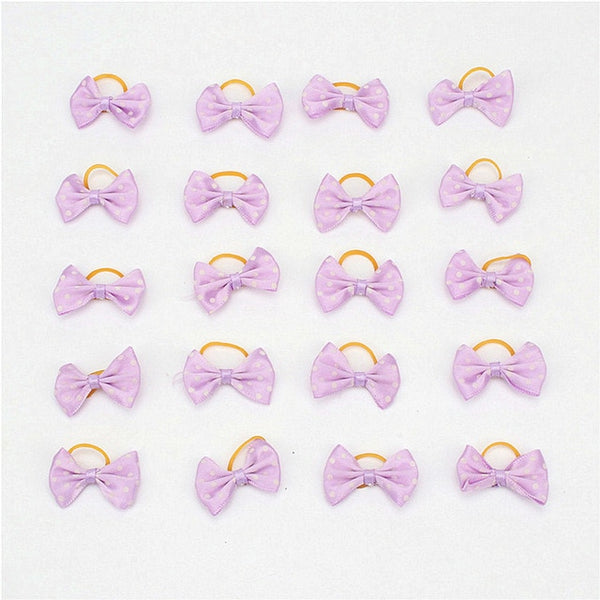 Small Dogs Bows Hair Yorkshire terrier Grooming hair Clips Bows Cats - doggiebox Australia