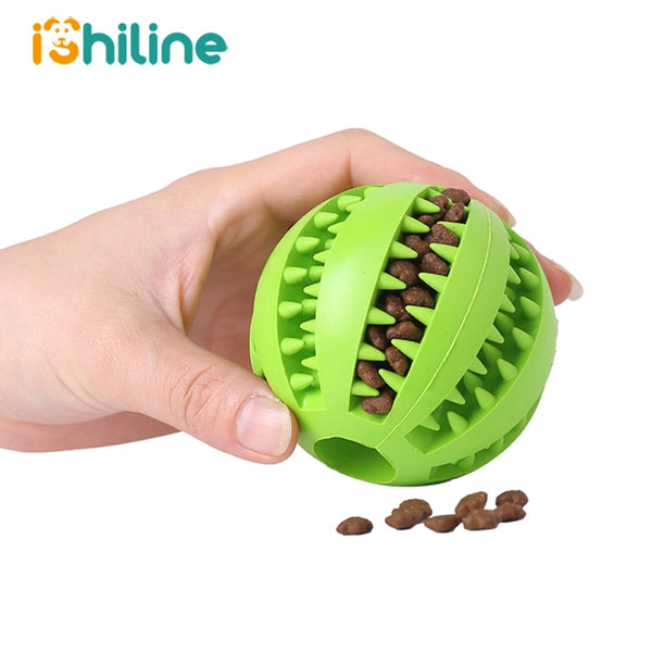 Interactive Elasticity Extra-tough Rubber Chew ball for Pet Dog - doggiebox Australia