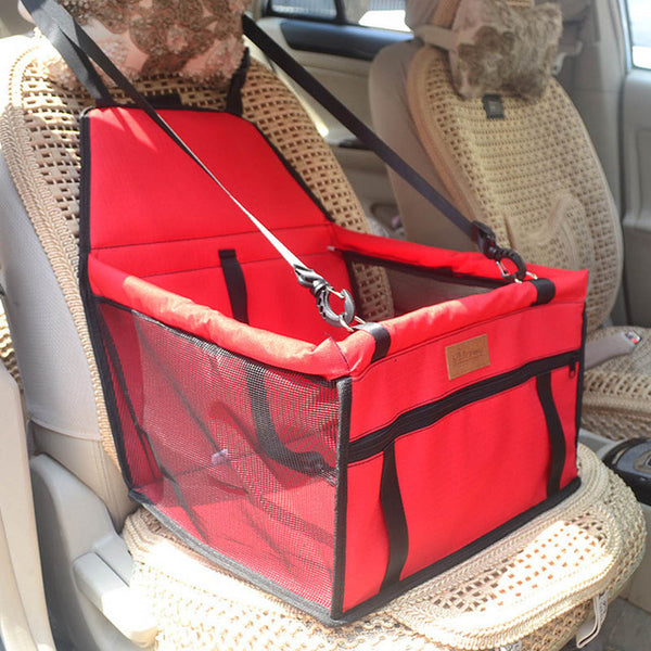 Waterproof Folding Double Thick Pet Travel Accessories cum Mesh Hanging Bag - doggiebox Australia