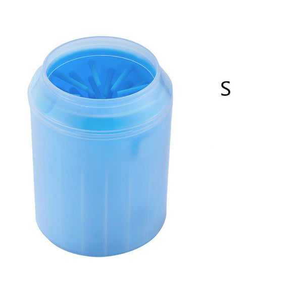 Cleaning cup,combs,towel,foot washer brush bucket for Dog paw - doggiebox Australia
