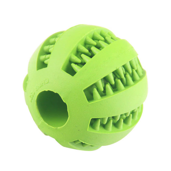 Extra-tough Interactive Elasticity Rubber Ball Of Food for Dog Chew and Tooth Cleaning - doggiebox Australia
