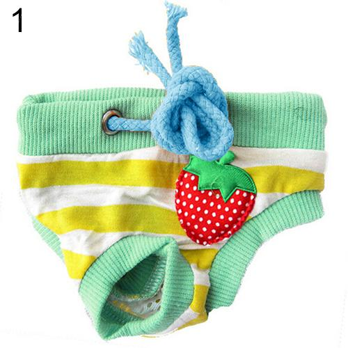 Dog Puppy Diaper Pants Physiological Sanitary Short Nappy Pet Products - doggiebox Australia