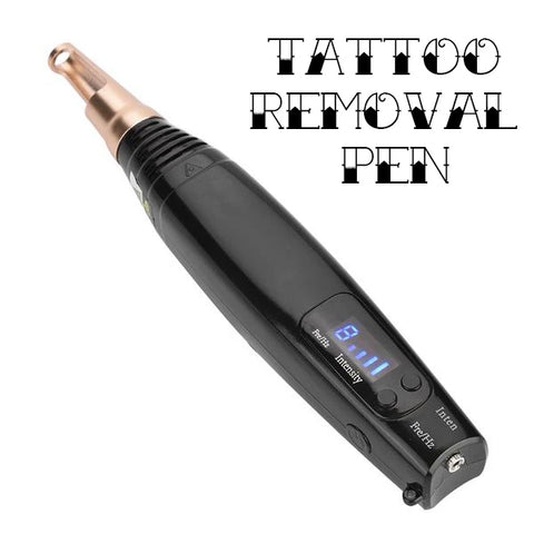 Tattoo Removal Laser Pen Kit 2019 Small Edition - Easy DIY Small Tattoo Ink Remover Machine for Home Use - Safe for Skin