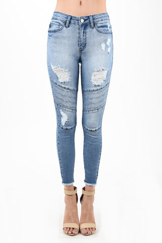 Judy Blue Non-Destrusted Skinny Jeans - REGULAR & CURVY