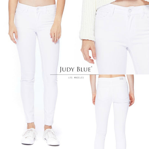 Judy Blue DARK Skinny Jeans - REGULAR & CURVY