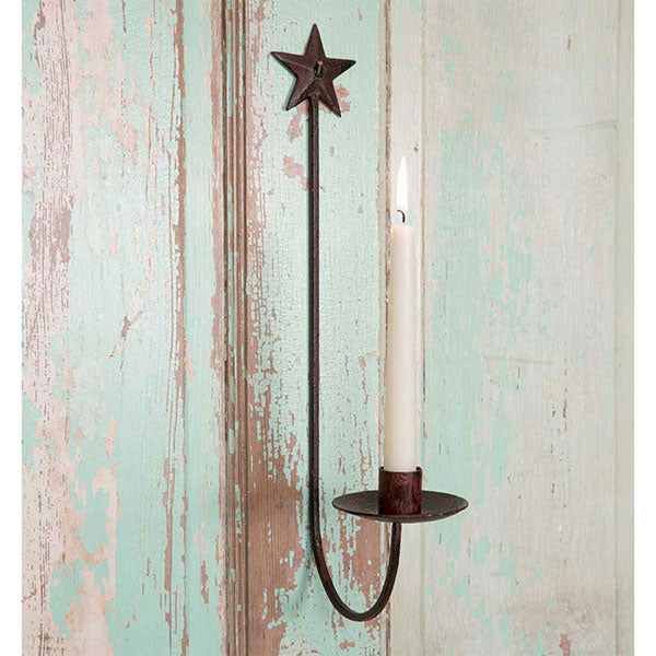 Star Wall Sconce - 1 Pair