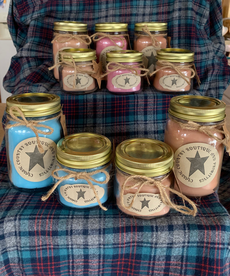 Handmade Candles from Classic Country Boutique & Primitives 8 oz