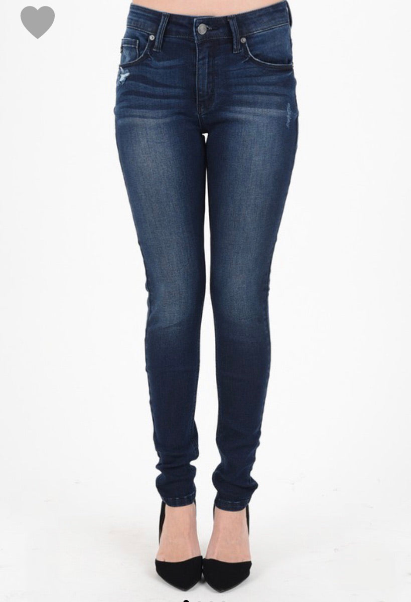 KanCan DARK Skinny Jeans- REGULAR