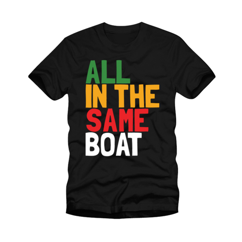 All In The Same Boat T