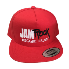 Load image into Gallery viewer, Jamrock Embroidered Logo Snapback Hat