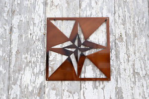 4 Point Star Quilt Block