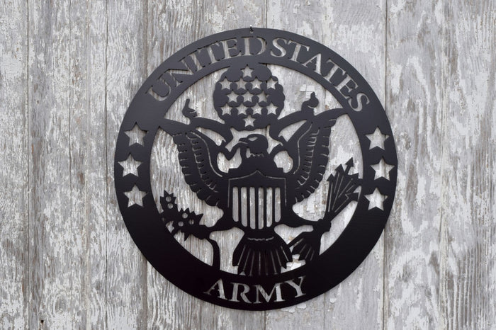 Army Seal Logo Circle