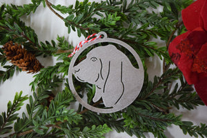 Beagle Dog Christmas Ornament