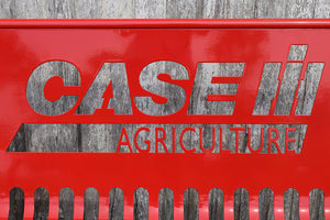 Case IH Agriculture Steel Bench