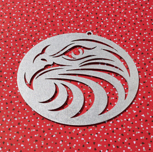 Eagle Circle Christmas Ornament