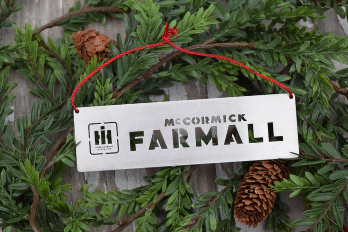 Farmall Logo Christmas Ornament
