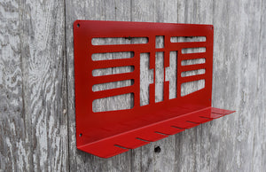 Red Air Tool holder with IH emblem & 7 slots for tools