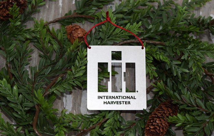 International Harvester Logo Christmas Ornament