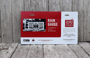 International Harvester Rain Gauge