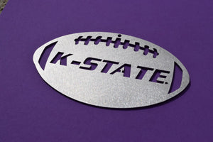K-State Football Christmas Ornament