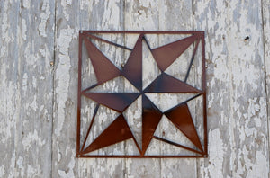 North Star Quilt Block