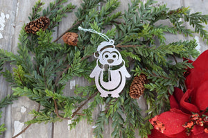 Penguin Scarf Christmas Ornament