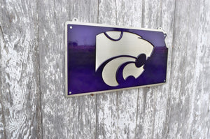 Kansas State Power Cat Map