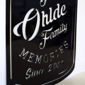 Preserving Memories Jar Name Year