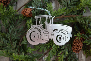 Tractor Cab Christmas Ornament