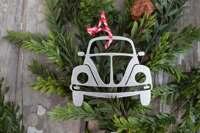 Bug Car Christmas Ornament