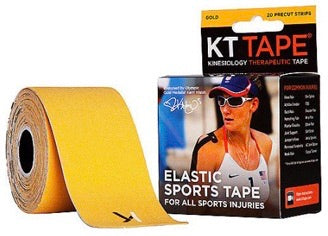 KT Tape Cotton - Gold | Kinesiology Tape | Sports Tape India