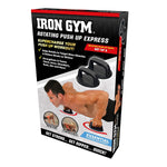 Iron Gym - Rotating Push Up Grips (Pair)