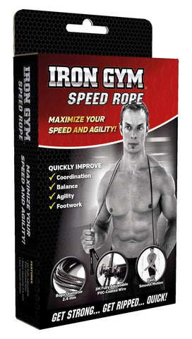 Iron Gym Speed Rope-Wire India