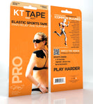 KT Tape Pro - Pre-Cut, 3 Synthetic Strips | Kinesiology Tape | Sports Tape India