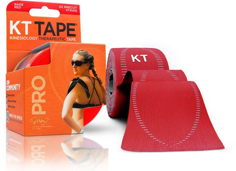 KT Tape Pro - Rage Red | Kinesiology Tape | Sports Tape India